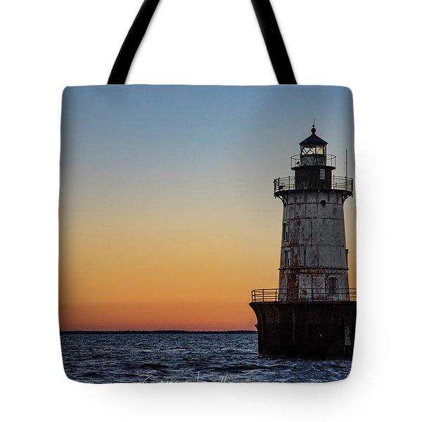 Hoopers Island Sunset Tote Bag