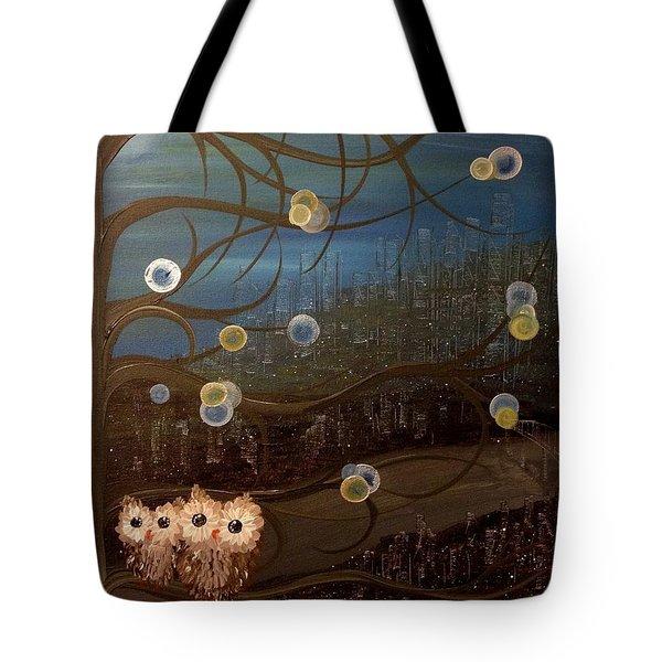 Hoo's City Original Tote Bag