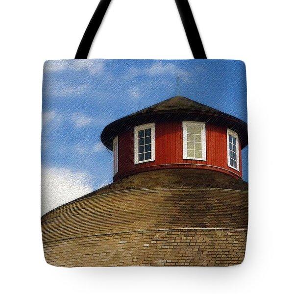Hoosier Cupola Tote Bag by Sandy MacGowan