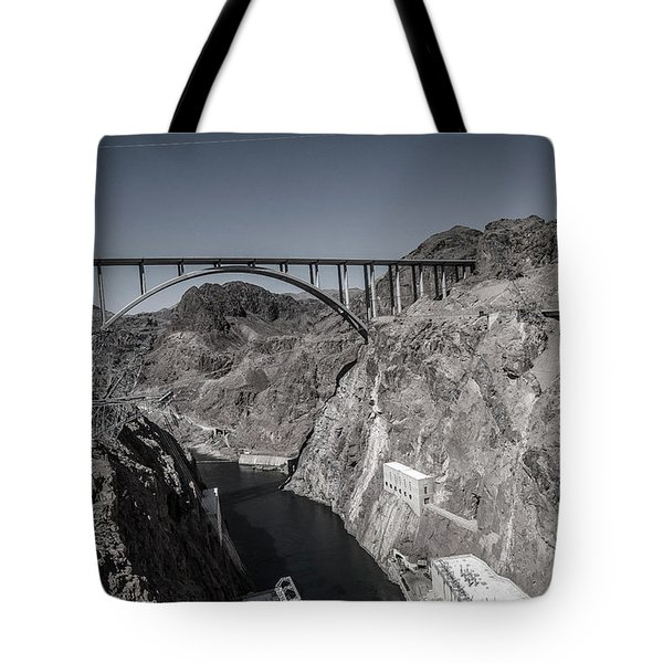 Hoover Dam Bridge Tote Bag