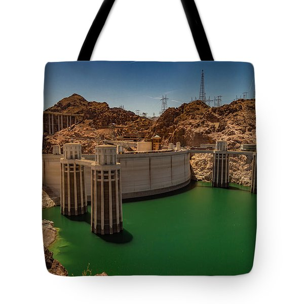 Hoover Dam Tote Bag by Ed Clark
