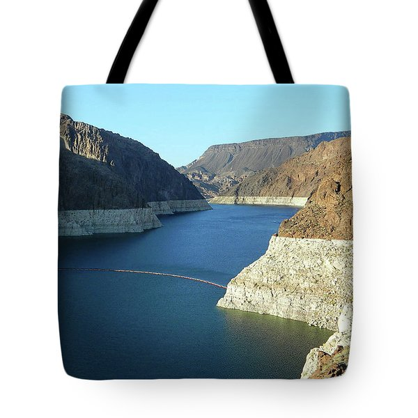 Tote Bag featuring the photograph Hoover Dam In May by Emmy Marie Vickers