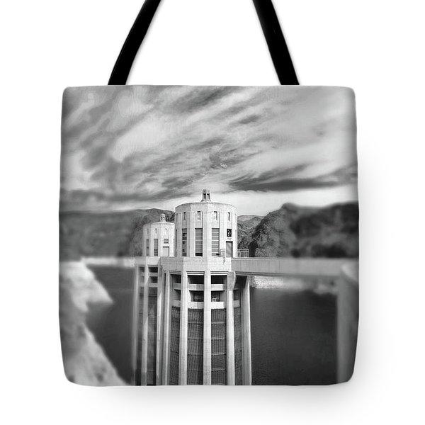 Hoover Dam Intake Towers No. 1-1 Tote Bag