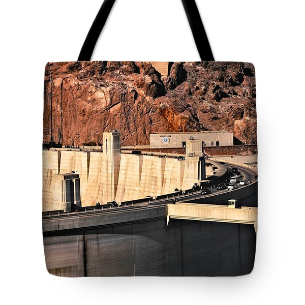 Tote Bag featuring the photograph Hoover Dam by Kim Wilson