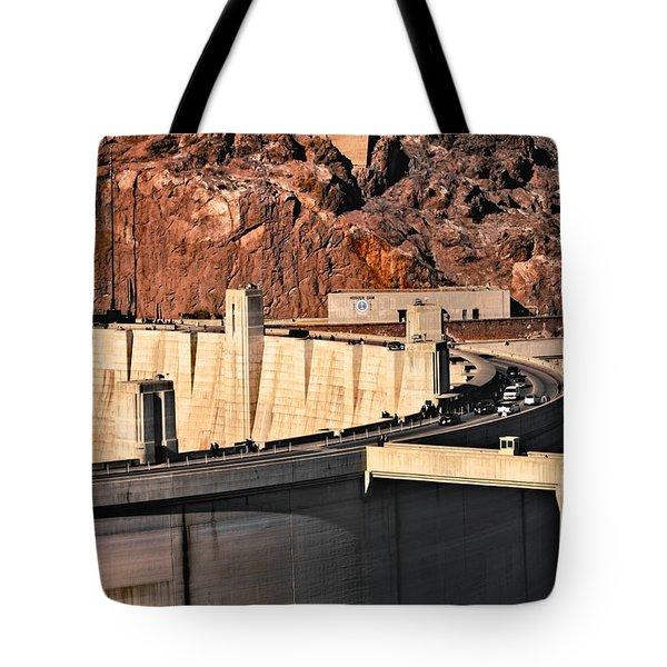 Hoover Dam Tote Bag by Kim Wilson