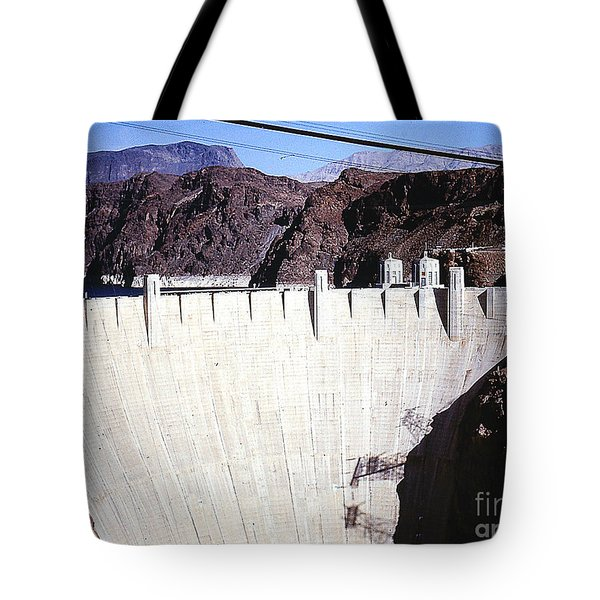 Tote Bag featuring the photograph Hoover Dam by Merton Allen