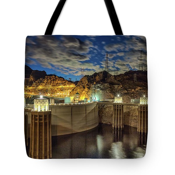 Tote Bag featuring the photograph Hoover Dam by Michael Rogers