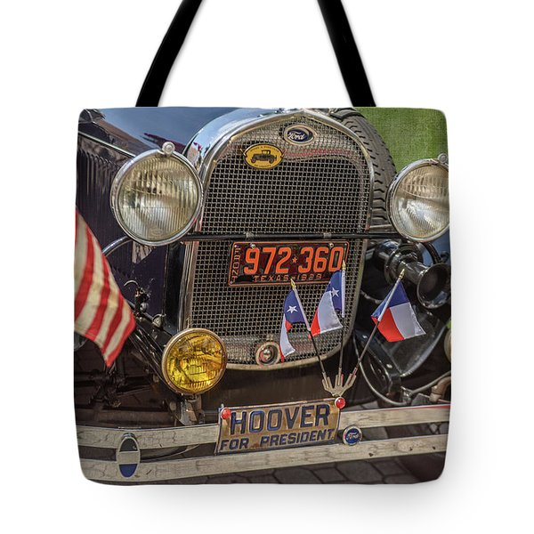 Hoover Era Ford Tote Bag