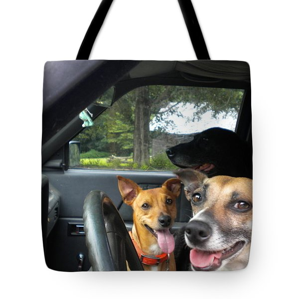 Tote Bag featuring the photograph Hop In I'll Drive by Diannah Lynch