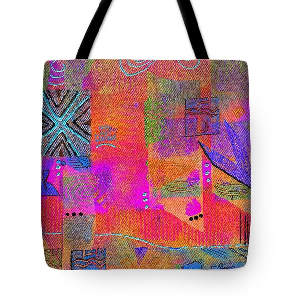 Hope And Dreams Tote Bag by Angela L Walker