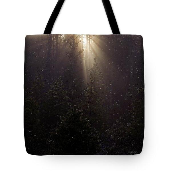 Hope And Faith - Winter Art Tote Bag