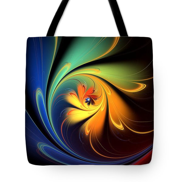 Hope And Sorrow Tote Bag by Kim Redd
