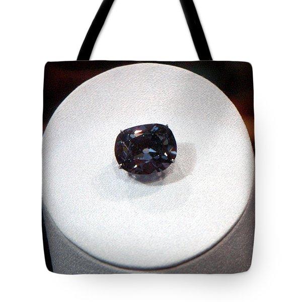Hope Diamond 45.52 Carats Tote Bag by LeeAnn McLaneGoetz McLaneGoetzStudioLLCcom
