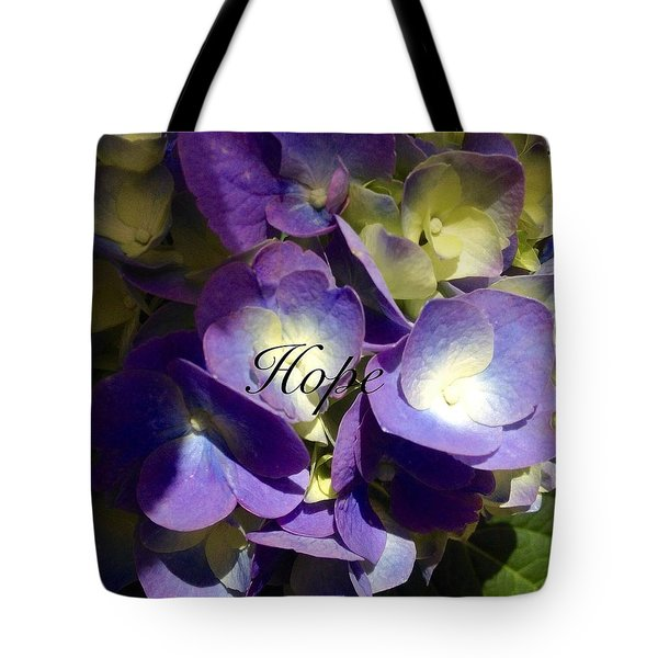 Tote Bag featuring the photograph Hope-flowers by Alohi Fujimoto