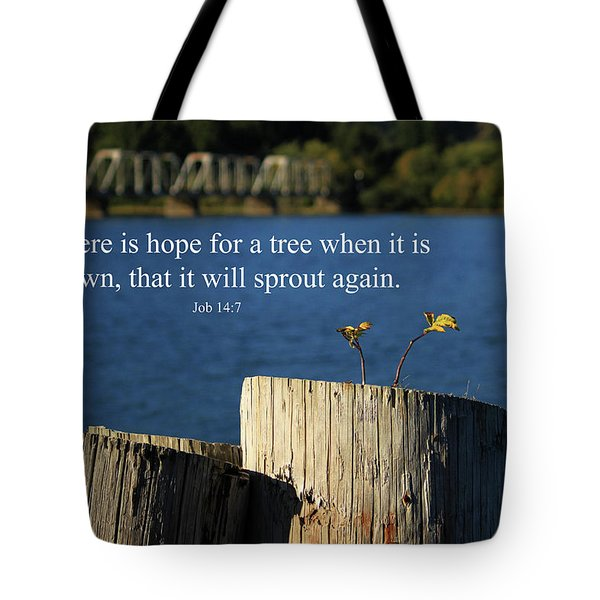 Hope For A Tree Tote Bag by James Eddy