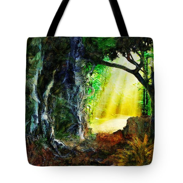 Tote Bag featuring the digital art Hope by Francesa Miller