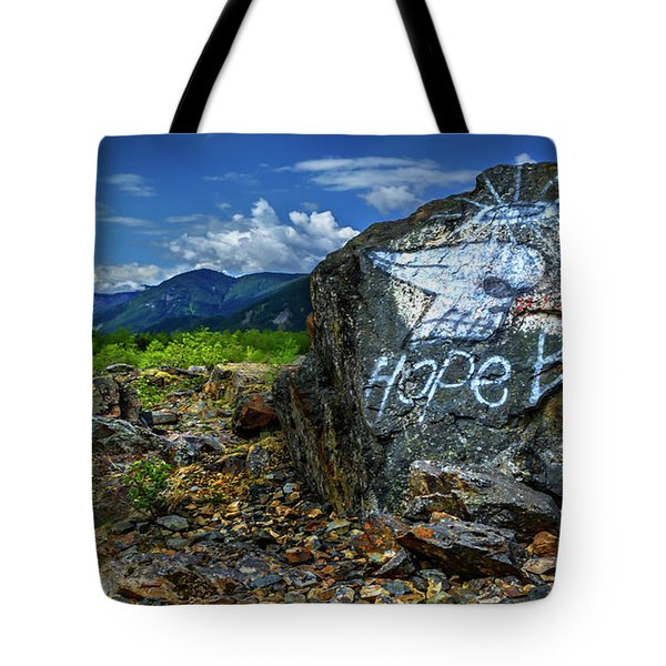 Tote Bag featuring the photograph Hope II by John Poon