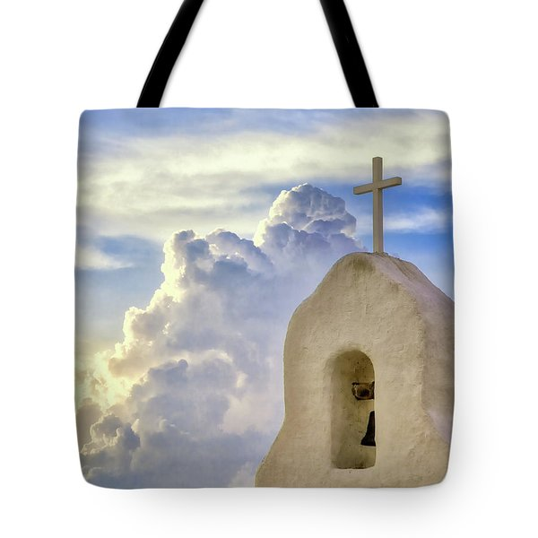 Hope In The Storm Tote Bag
