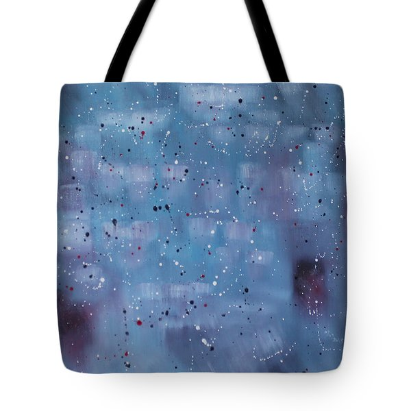 Hope Is Happiness... Tote Bag by Min Zou