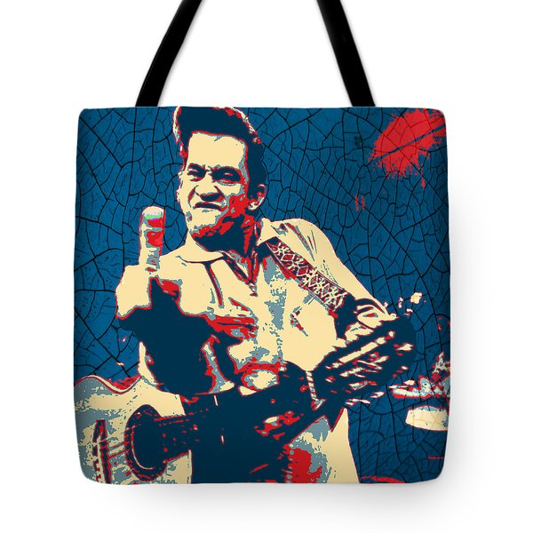 Hope - Johnny Cash Tote Bag