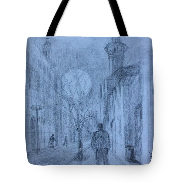 Moon Of Hope Tote Bag