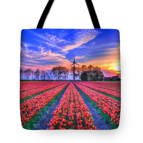 Hope Of Spring Tote Bag by Midori Chan