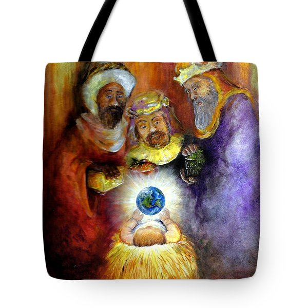 Hope Of The World Tote Bag