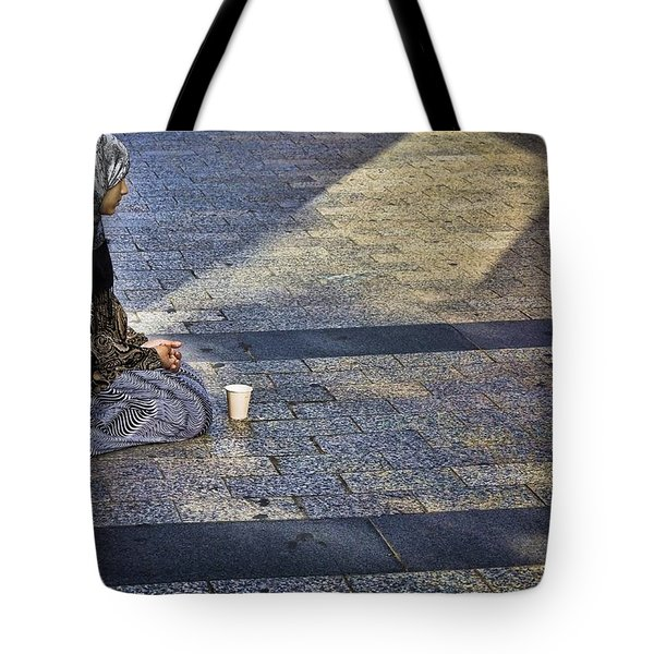 Hope On Champs-elysee Tote Bag