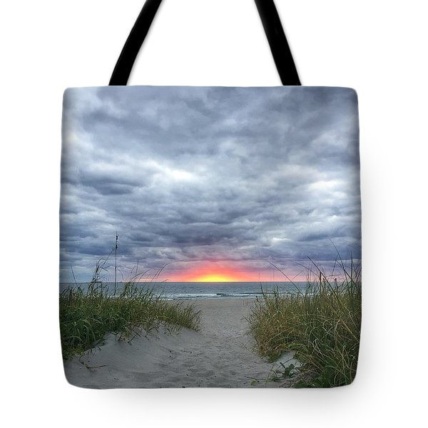 Hope On The Horizon Delray Beach Florida  Tote Bag