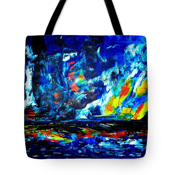 Tote Bag featuring the painting Hope by Piety Dsilva