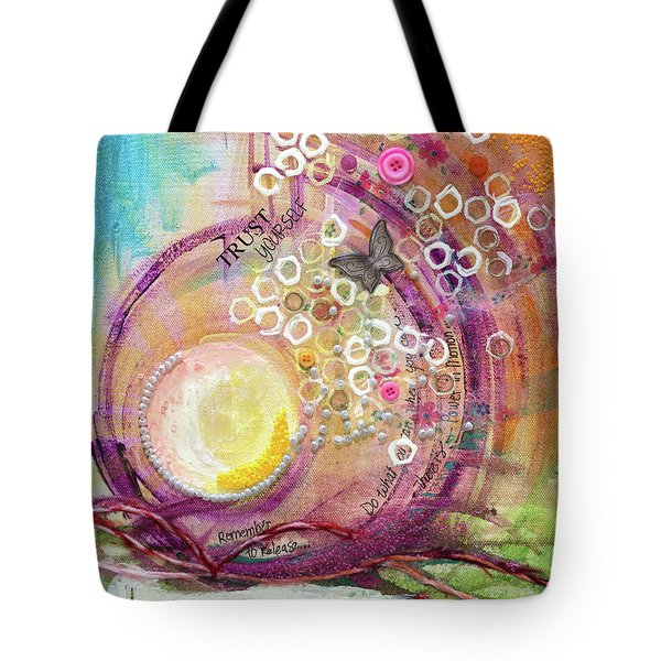 Hope Rising Tote Bag