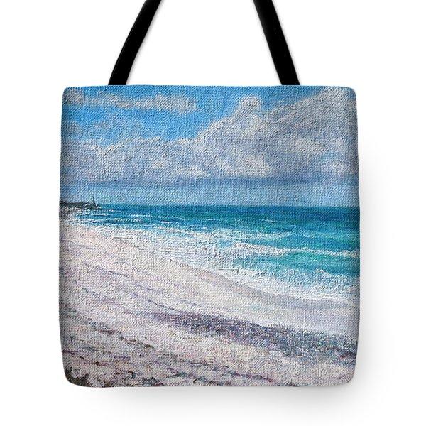 Hope Town Beach Tote Bag