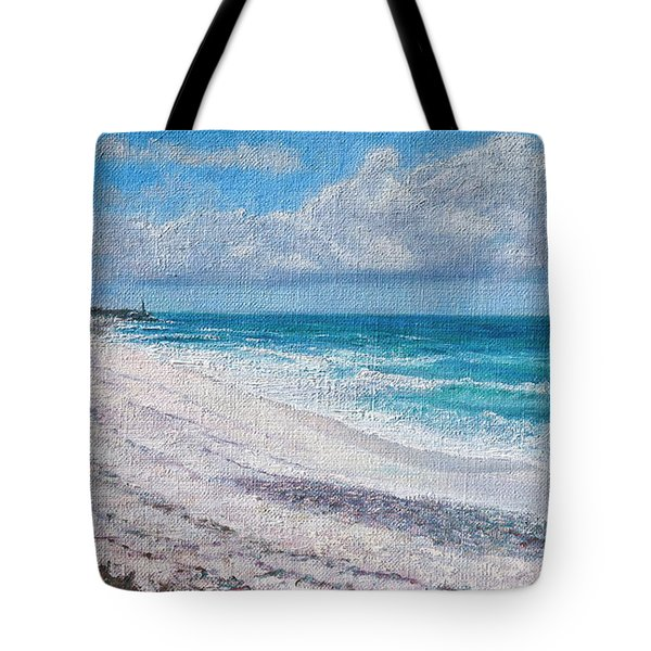 Hope Town Beach Tote Bag