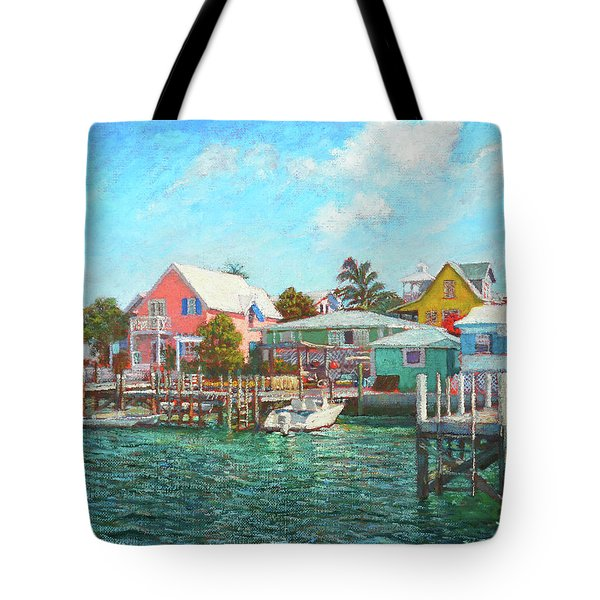 Hope Town By The Sea Tote Bag