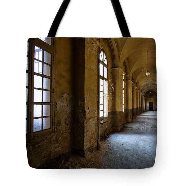 Hopelessly In Hope - Abandoned Mental Institution Tote Bag