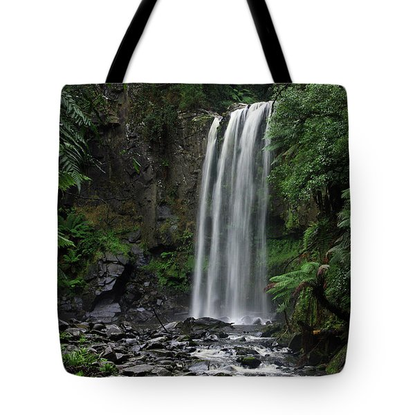 Tote Bag featuring the photograph Hopetoun Falls by Marion Cullen