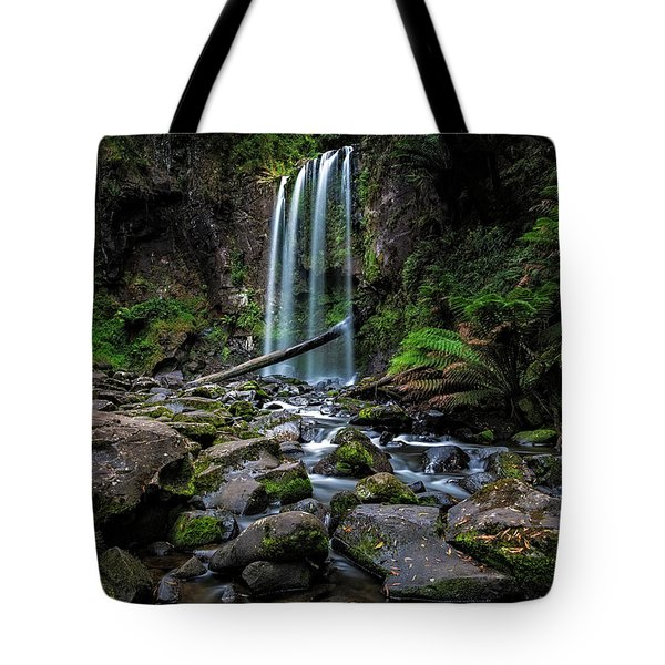 Hopetoun Falls Tote Bag by Mark Lucey