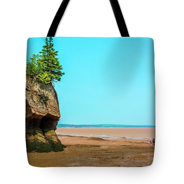 Hopewell Rocks In New Brunswick -  Canada Tote Bag
