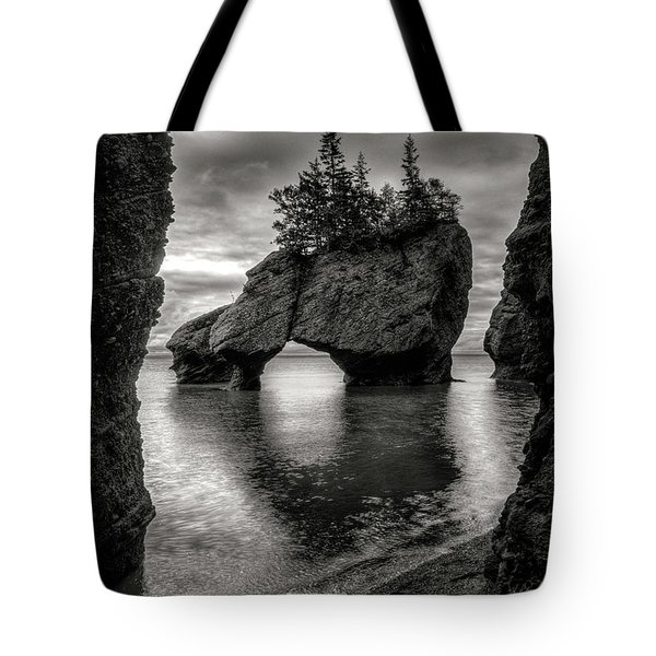 Hopewell Rocks Tote Bag