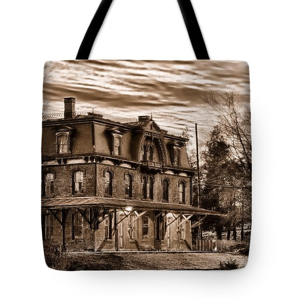 Hopewell Station Tote Bag