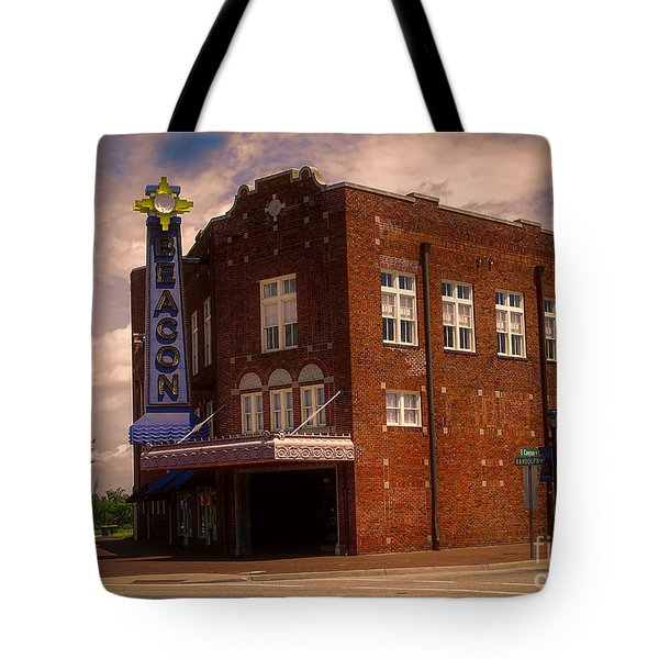 Tote Bag featuring the photograph Hopewells Beacon Theater by Melissa Messick