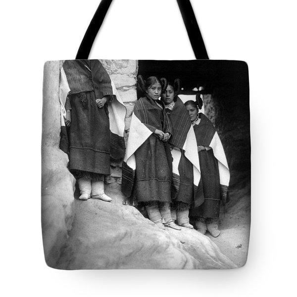 Hopi Maidens, 1906 Tote Bag by Granger