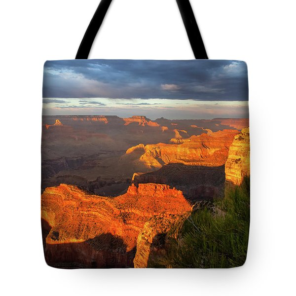 Hopi Point Sunset 1 Tote Bag