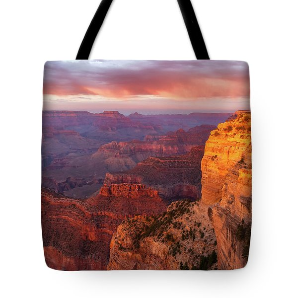 Hopi Point Sunset 3 Tote Bag