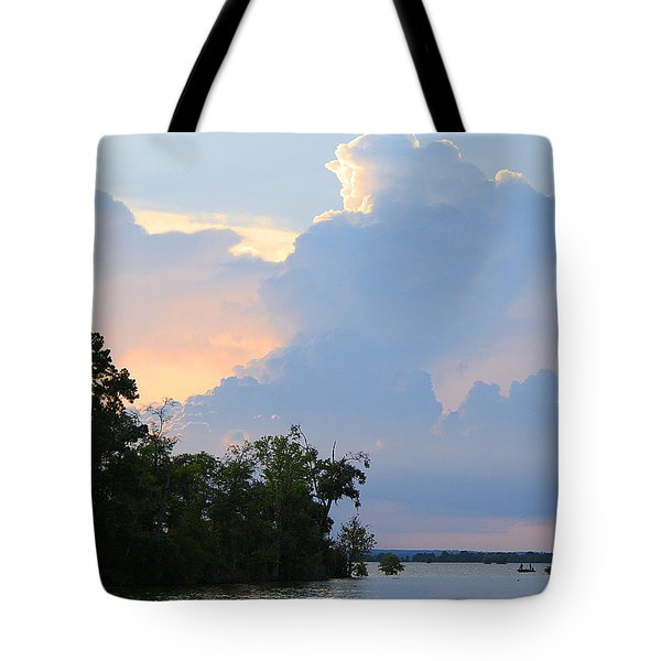Hoping For An Evening Shower Tote Bag