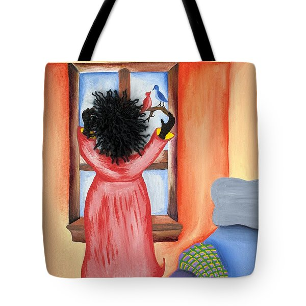 Hoping Tote Bag