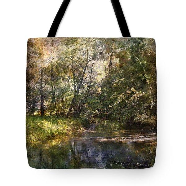Hopkins Pond, Haddonfield, N.j. Tote Bag