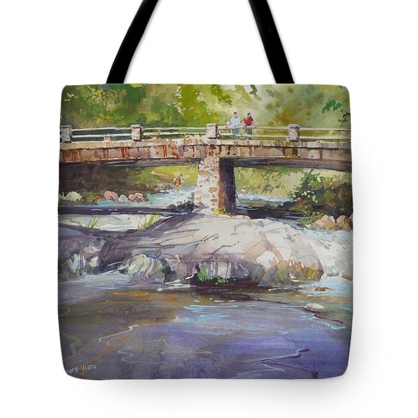 Hopper Bridge Creek Tote Bag