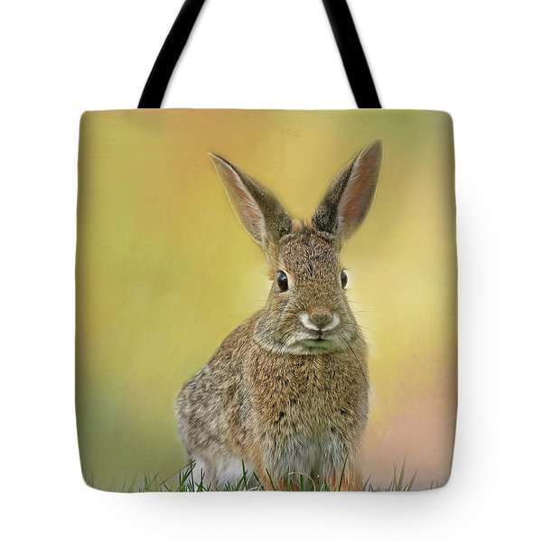 Tote Bag featuring the photograph Hoppy Spring by Donna Kennedy