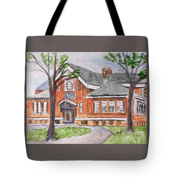 Horace Mann School Amesbury Ma Tote Bag